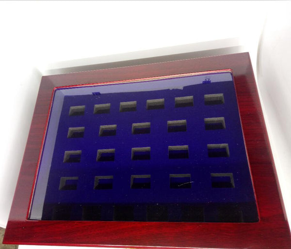 Wooden Display Box (27 Slot Box)