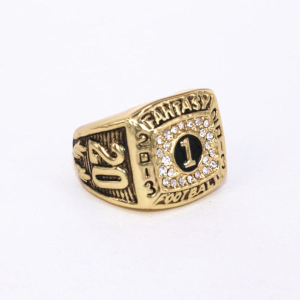 Fantasy Football League (2013) Championship Ring