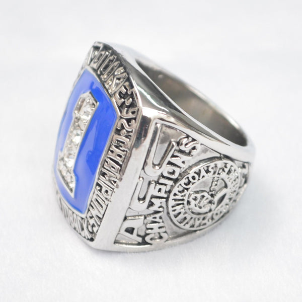 Duke University Blue Devils (1991 1992) - Replica NCAA Basketball Championship Ring
