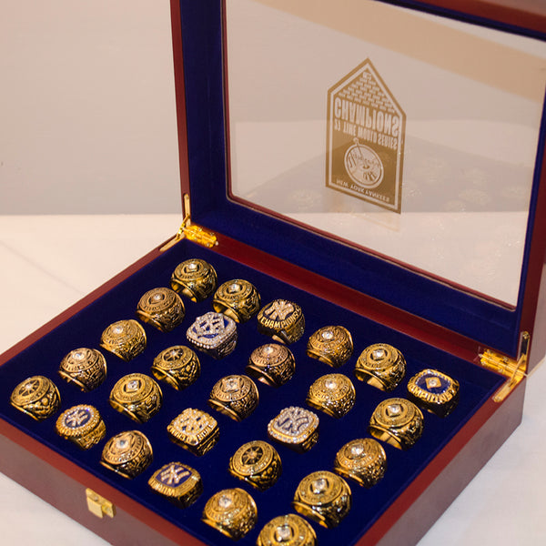 New York Yankees Replica World Series Championship Rings [27 Ring Set]