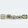 FFL - Fantasy Football League Championship Rings [5 Ring Set]