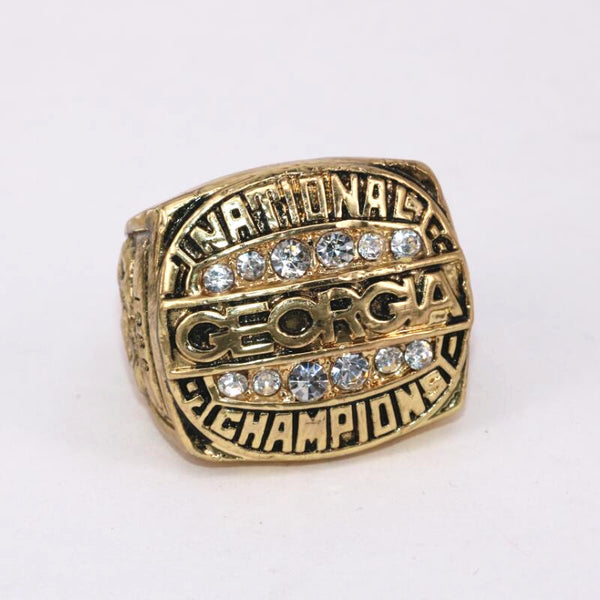 Georgia Bulldogs NCAA (1980) - Replica National Football Championship Ring