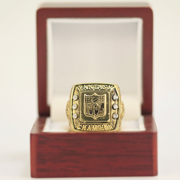 FFL - Fantasy Football League (Fan Design) Championship Ring