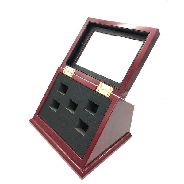 Wooden Display Box (5 Slot Box)