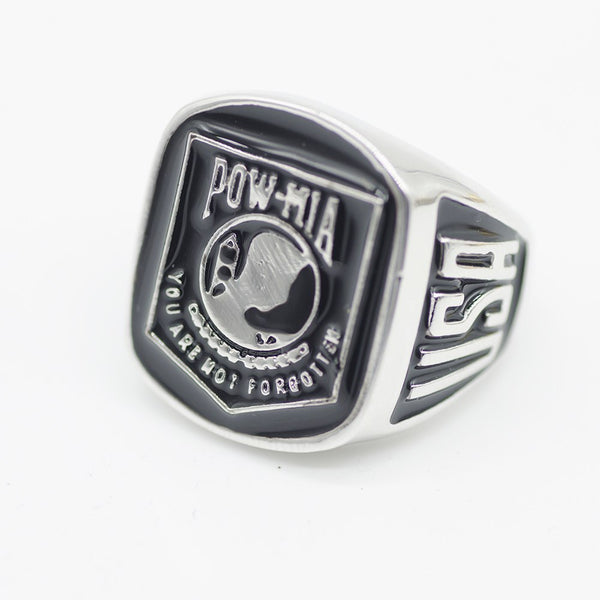 Pow-Mia (2017) American Soldier Veteran's US Army Ring