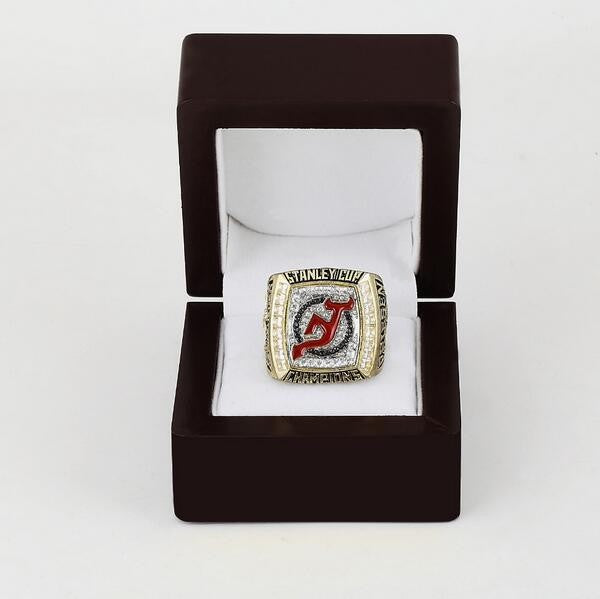 New Jersey Devils (2003) - Copper Stanley Cup NHL Championship Replica Ring