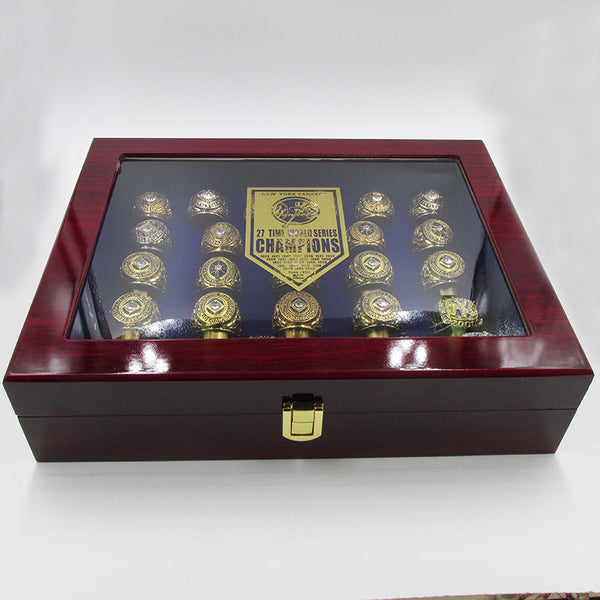 New York Yankees - Replica World Series Championship Rings [27 Ring Set] with FREE Expedited Shipping