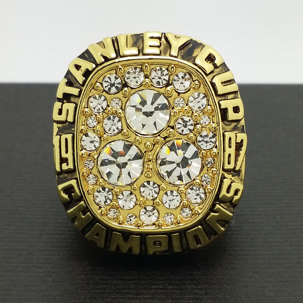 Edmonton Oilers Hockey (1987) Replica NHL Stanley Cup Championship Ring