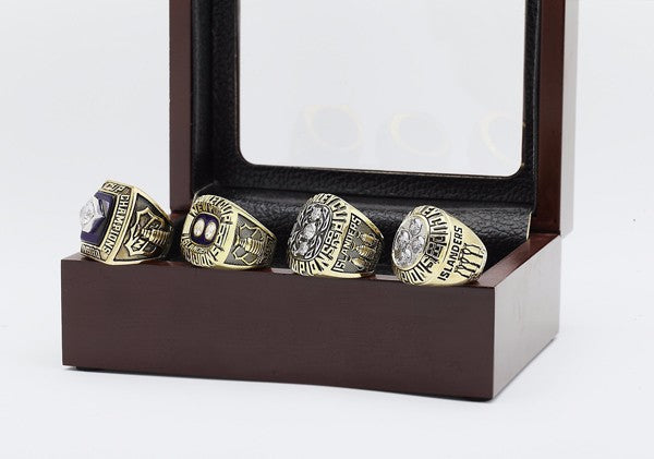 New York Islanders - Stanley Cup Replica NHL Championship Rings [4 Ring Set]