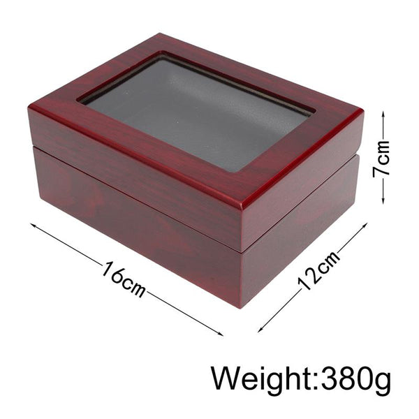 Wooden Display Box (4 Slot Box)