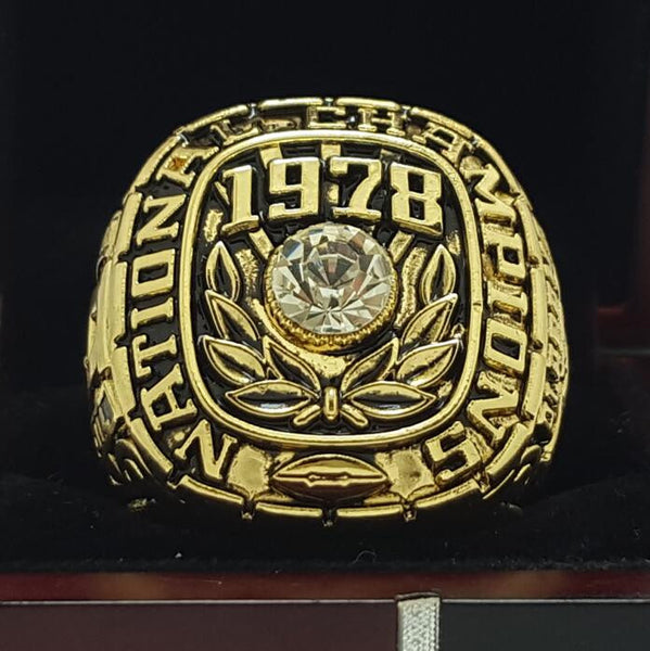 Alabama Crimson Tide (1978) - [Gold] Replica NCAA National Championship Ring