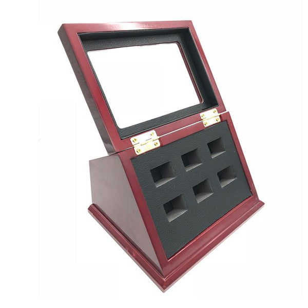 Wooden Display Box (6 Slot Box)