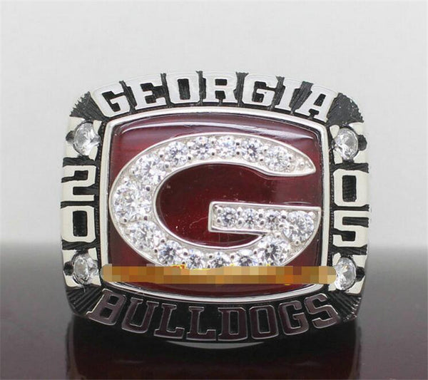 Georgia Bulldogs NCAA (2005) - Replica National Football Championship Ring