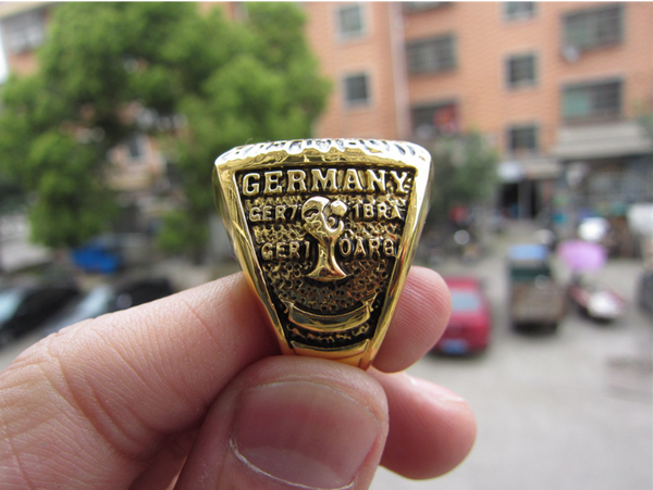 Germany Soccer (2014) - World Cup Championship Replica Ring