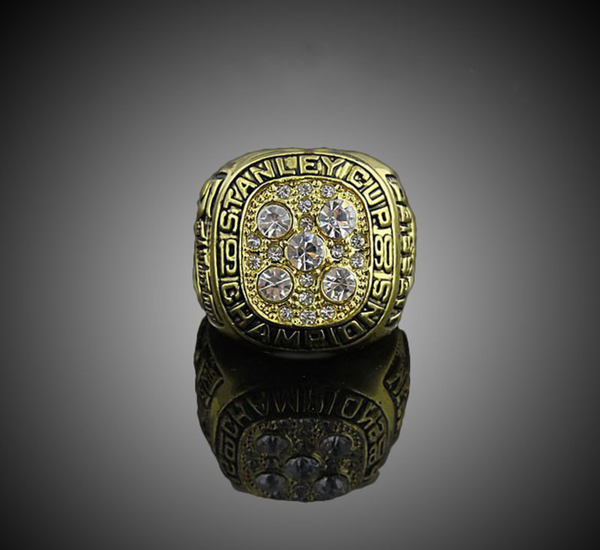 Edmonton Oilers Hockey (1990) Replica NHL Stanley Cup Championship Ring