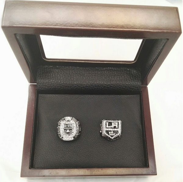 LA Kings Hockey (2012 2014) - Replica NHL Stanley Cup Championship Rings [2 Ring Set]