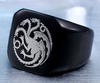 Custom Engraved Signet Ring (Stainless Steel) - Engrave Custom Logo or Text