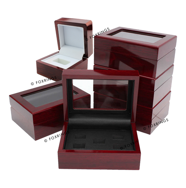 Display Box ll Wooden Collector's Box ll Ring Box