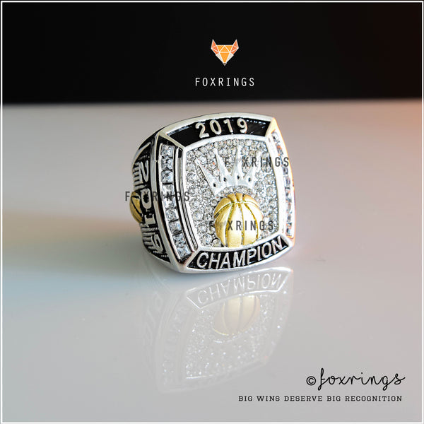 Fantasy Basketball (2019) CUSTOM NAME - Bracket Winner Championship Ring - March Madness