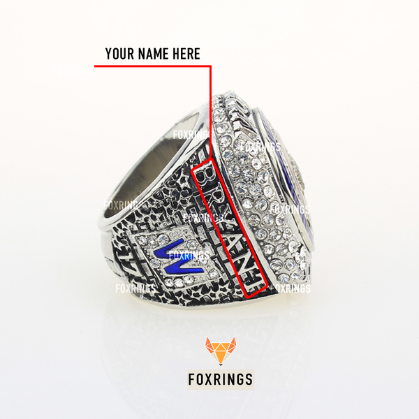 Chicago Cubs (2016) - CUSTOM NAME Replica World Series Championship Ring (Official Design)