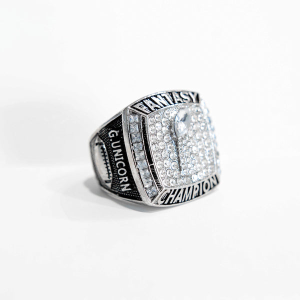 PREMIUM FFL - Fantasy Football League (2018) - CUSTOM NAME Championship Ring