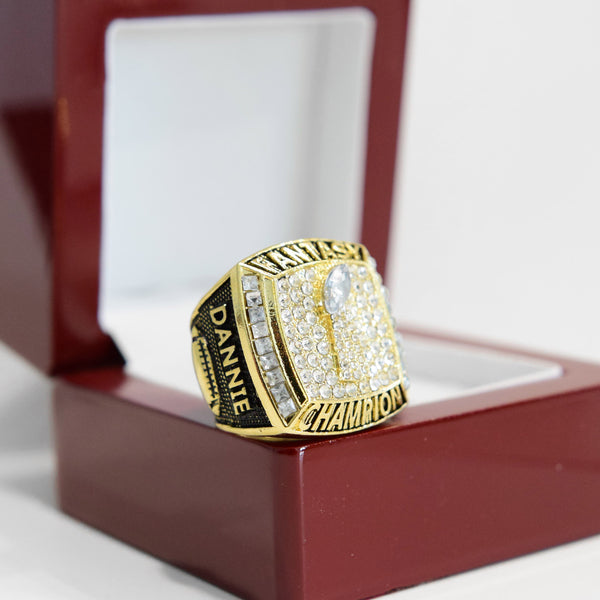 PREMIUM FFL - Fantasy Football League (2021) - CUSTOM NAME Championship Ring