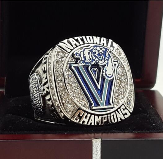 Villanova Wildcats NCAA Basketball (2016) - Replica National Championship Ring Kris Jenkins