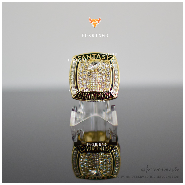 PREMIUM FFL - Fantasy Football League (2017) - Championship Ring