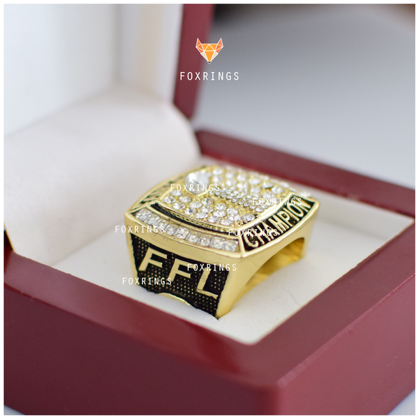 FFL - Fantasy Football League - (2017) Championship Ring