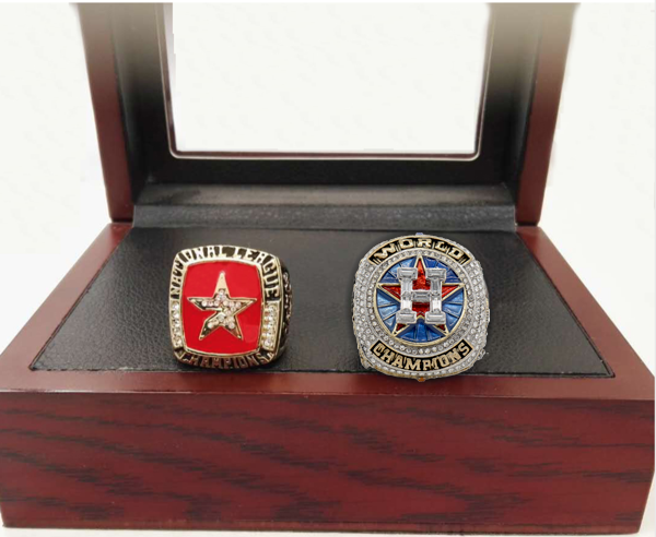 Houston Astros (2005/2017) - Replica World Series Championship Rings [2 Ring Set]