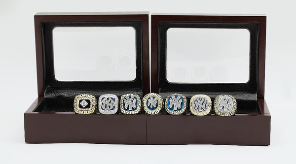 New York Yankees Replica World Series Championship Rings [7 Ring Set]