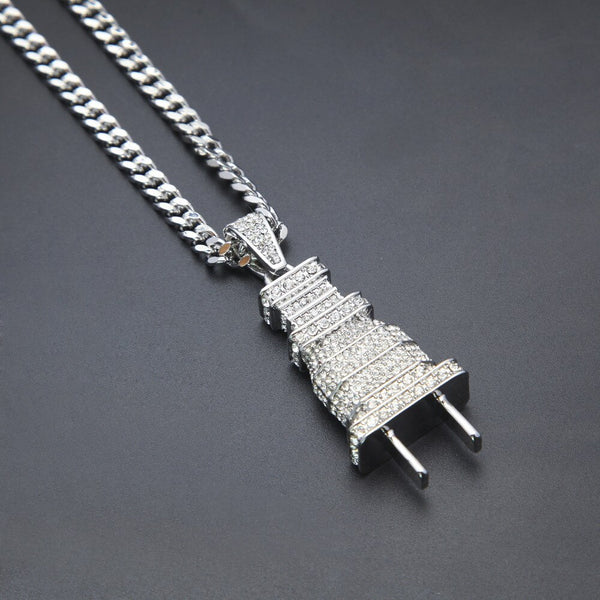 Unplugged (Iced Out) Cuban Hip Hop (Rap) Chain Necklace