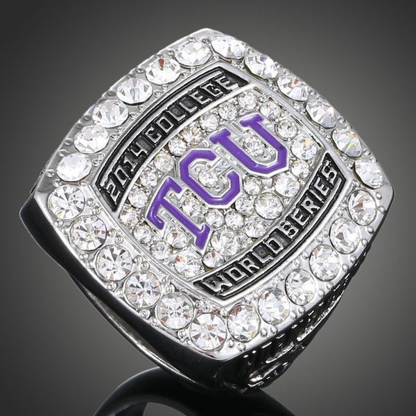 TCU American Texas Christian University Horned Frogs (2014) Replica Baseball Championship Ring