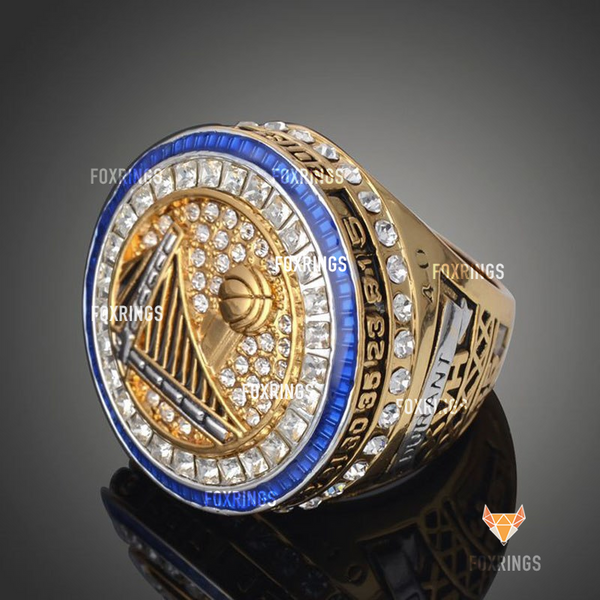 Golden State Warriors (2017) - Replica NBA Basketball Championship Ring (Official Design)