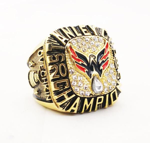 Washington Capitals (2018) Stanley Cup Finals Replica NHL Championship Ring [Fan Design]