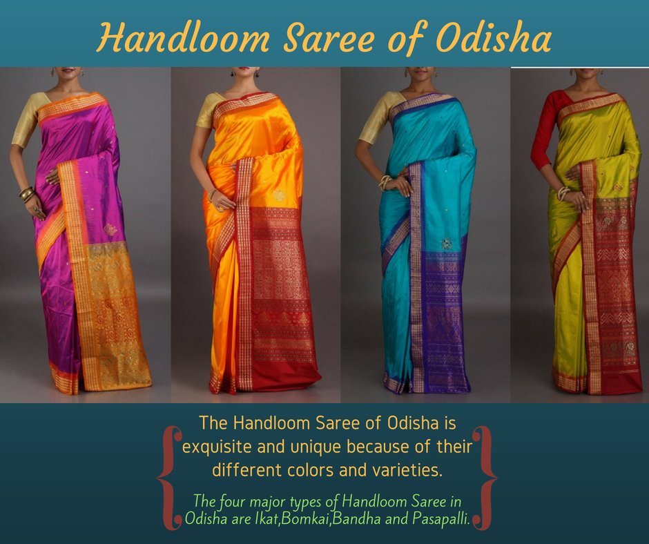 Handloom saree of Odisha