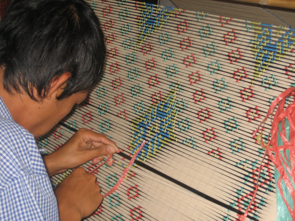 What is Ikat Process?