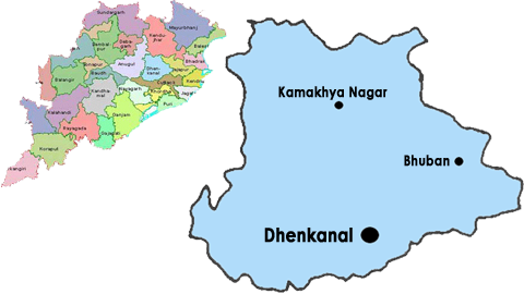 About Dhenkanal District