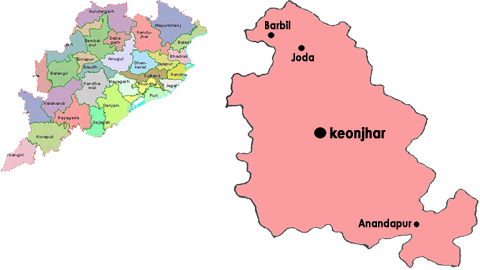 About Keonjhar District