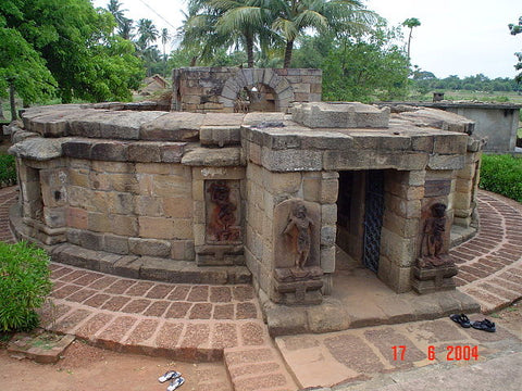 The temple is believed to be built by the Queen Hiradevi of Bramha dynasty during the 9th century.