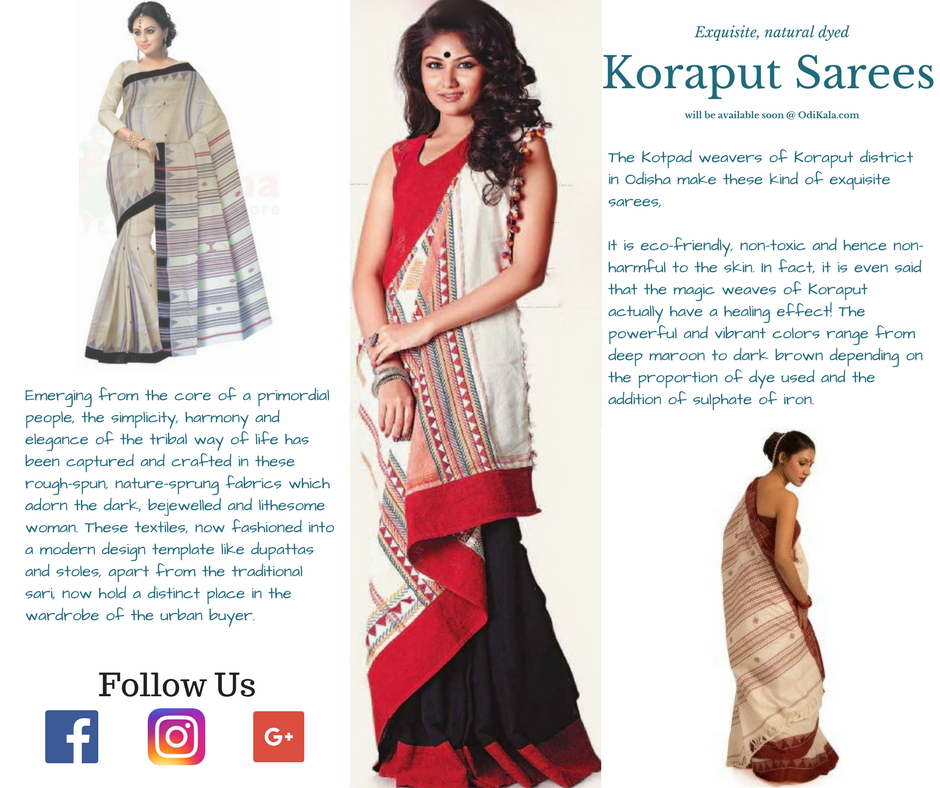 Know about Koraput Sarees
