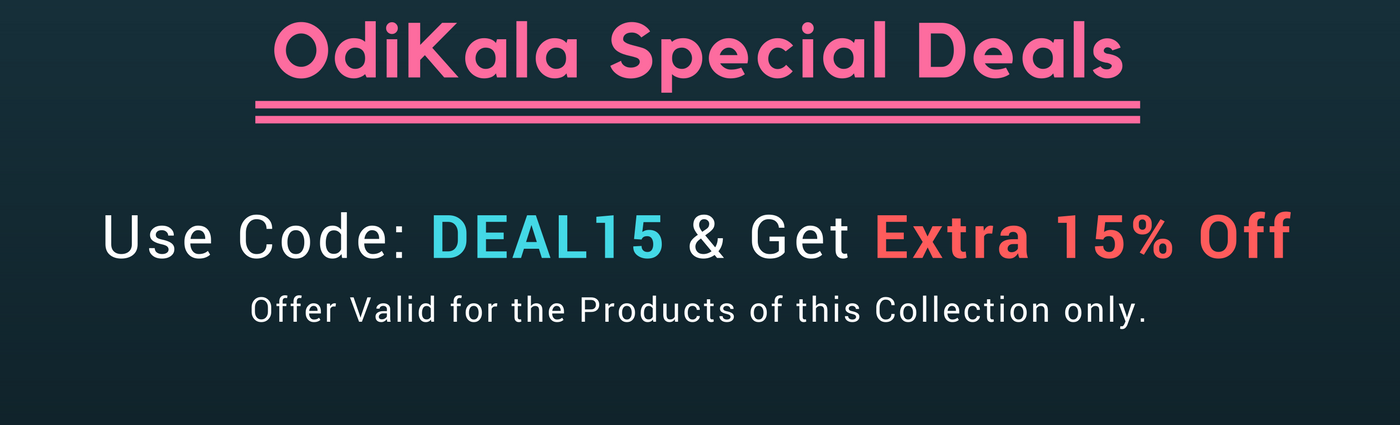 odikala special deals on sambalpuri saree, handloom saree, dress materials, unstitched materials and other handloom products.