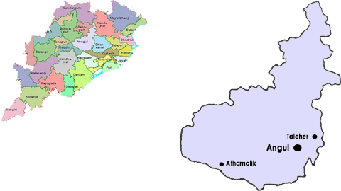 Angul District