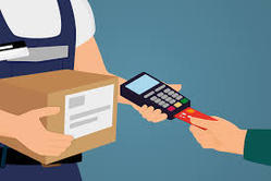 cash on delivery, card on delivery