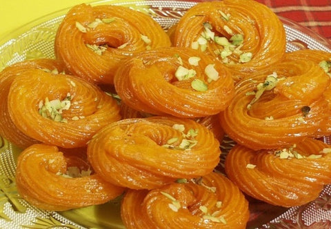 jalebi, cuisine of odisha, india, sweet dish, dessert