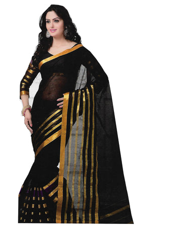 SILK SAREE (WITH BLOUSE PIECE)-Fancy Sarees-OdiKala Fancy Store-OdiKala