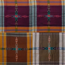 Sambalpuri Cotton Handkerchief. Size - 18 x 18. Set of 4