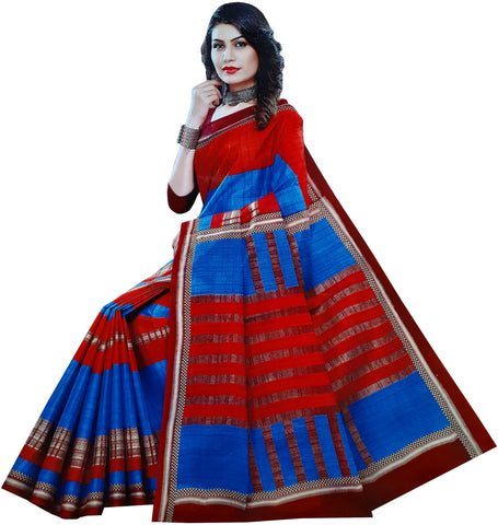 Exclusive Fancy Cotton Saree