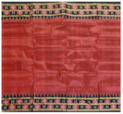 Khandua Silk Saree With Pasapalli Boarder