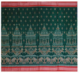 Sambalpuri cotton saree with blouse piece